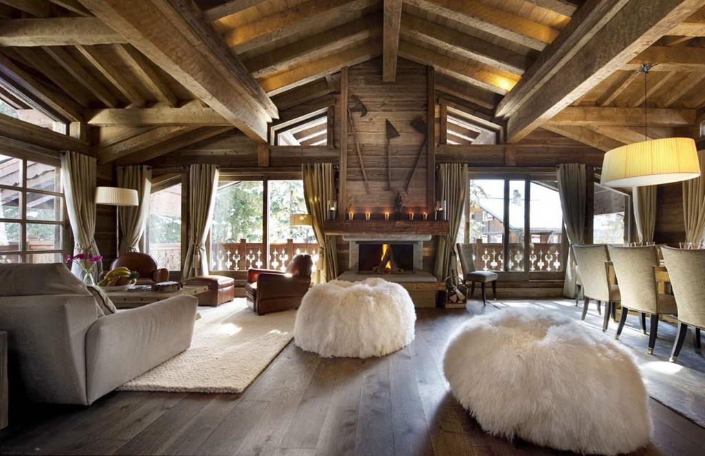 Дизайн интерьеров деревянного дома
