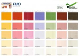 Натуральные краски AURO