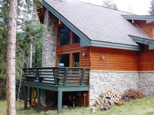 деревянный дом из сосны
