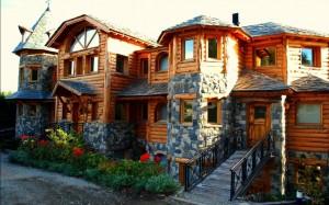 строительство домов из кедра