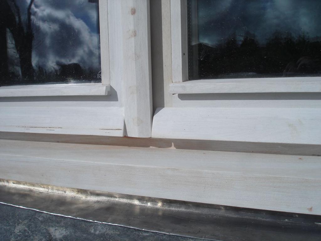 как установить отливы на окна 2
