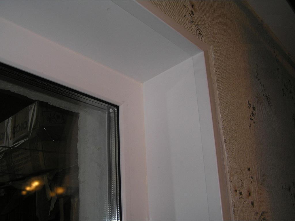 чем красить откосы на окнах