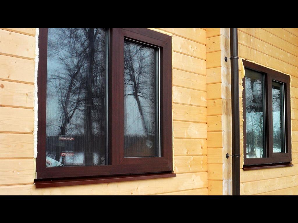 Отделка окон в деревянном доме своими руками фото 146