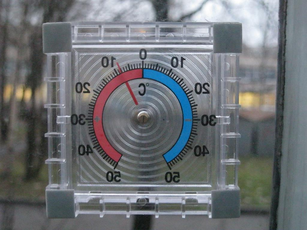 термометр уличный для пластиковых окон