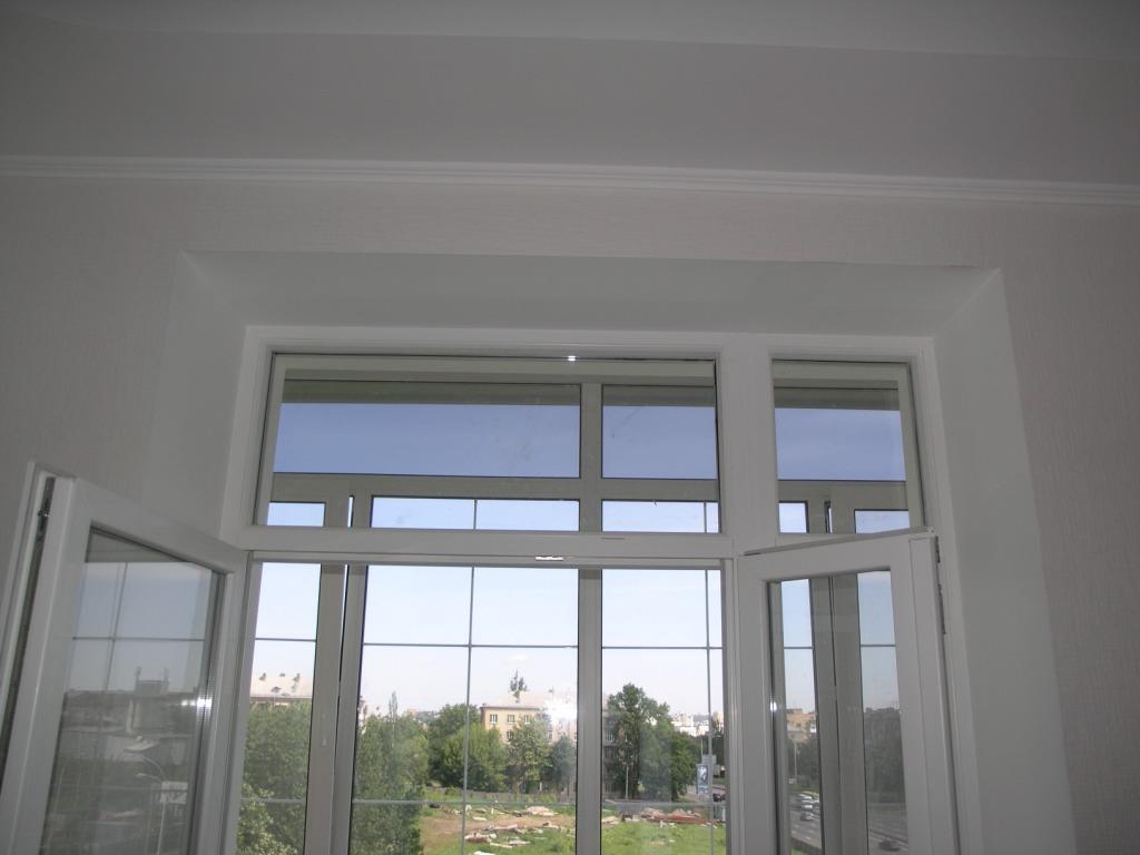 внутренние откосы для пластиковых окон