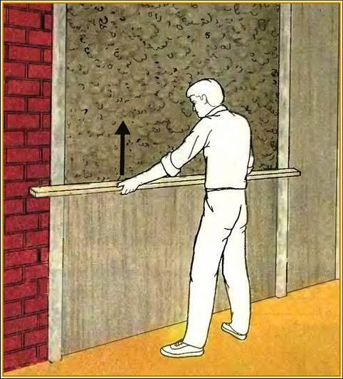 Установка маяков для выравнивания стен своими руками