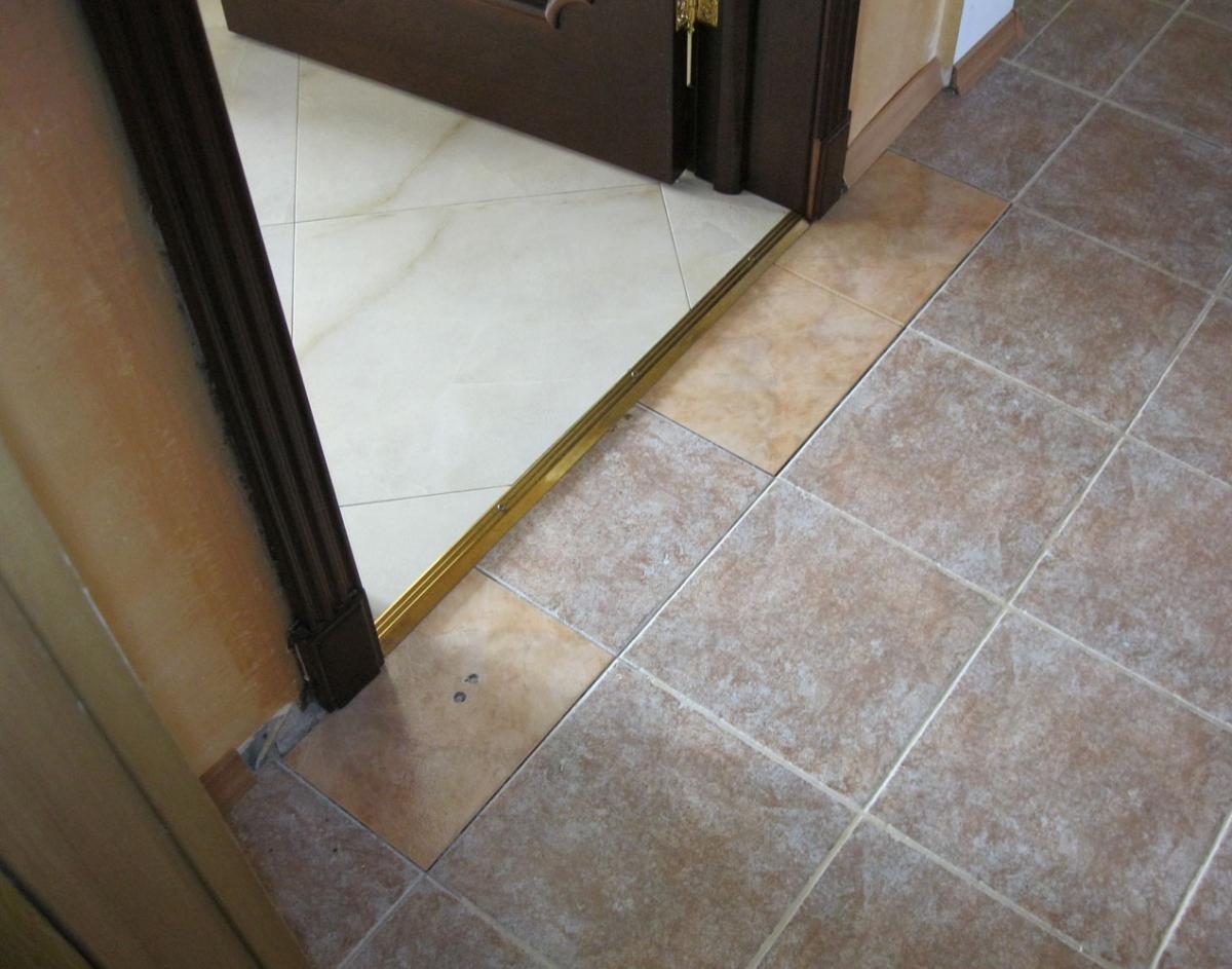 Порог в ванной комнате. Как сделать порог в ванной Строительный портал 41